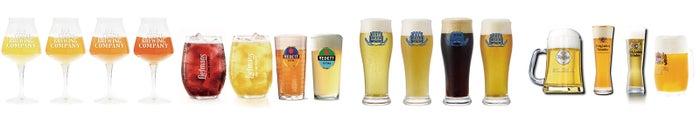 受賞歴豊富なビールたちがズラリ/画像提供:AATJ株式会社