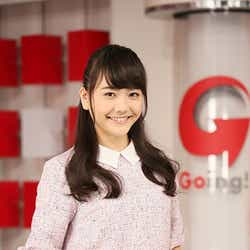 日曜日担当の松井愛莉(c)日本テレビ