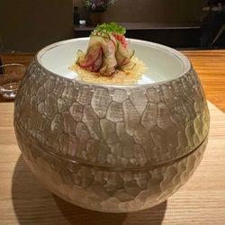 まる~い「3段重」を開けると?銀座の和食レストラン『季苑KION』の料理はサプライズに満ち溢れていた