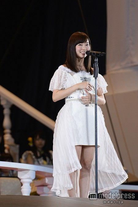 NMB48渡辺美優紀、選抜復帰に歓喜「心のもやもやがなくなった」<第7回AKB48選抜総選挙>(C)AKS【モデルプレス】