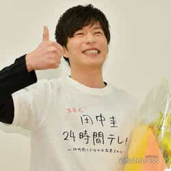 「田中圭24時間テレビ」放送終了直後の田中圭(C)モデルプレス