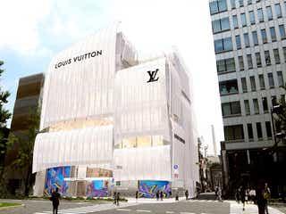 「ルイ・ヴィトン メゾン 大阪御堂筋」初のカフェ併設&国内最大店舗が誕生