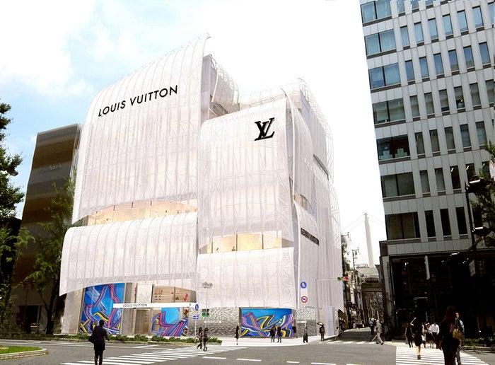 ルイ・ヴィトン メゾン 大阪御堂筋(C)Louis Vuitton