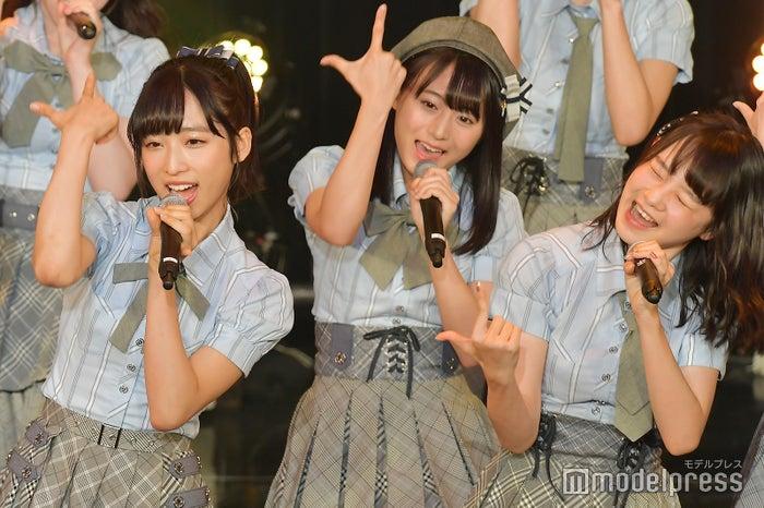 小栗有以、坂口渚沙、横山結衣/AKB48チーム8「TOKYO IDOL FESTIVAL 2018」 (C)モデルプレス