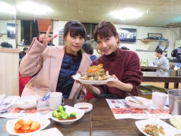 韓国旅行を楽しんだPerfumeあ~ちゃん&桃(Amebaブログより)