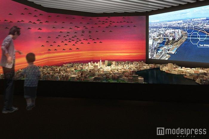 都市模型展示スペース イメージ/画像提供:森ビル