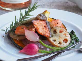 焼くだけ簡単!「鮭と野菜の塩麹バターソテー」の作り方