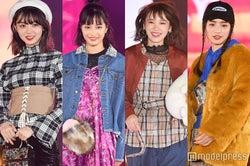 広瀬すず、飯豊まりえら「Seventeen」モデルがキス、手つなぎ…豪華集結で黄色い声<GirlsAward 2017 A/W>