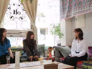 "E-girls坂東希×山口乃々華×石井杏奈、""女子会""で本音を語る"