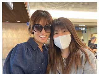 深田恭子、吉田沙保里からのサプライズに感激「海外でこんなことしてもらって…」