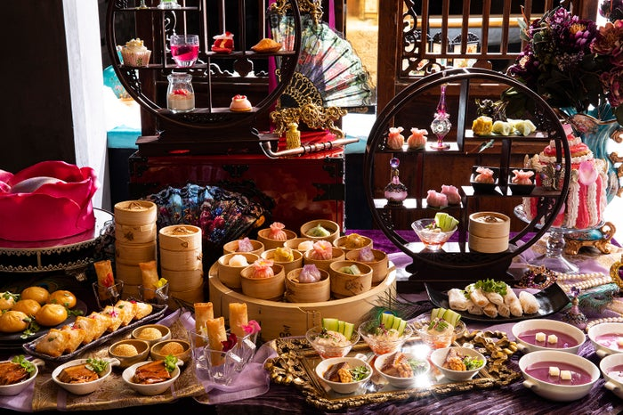 西太后&楊貴妃点心とマリー・アントワネットスイーツの饗宴/画像提供:ヒルトン東京