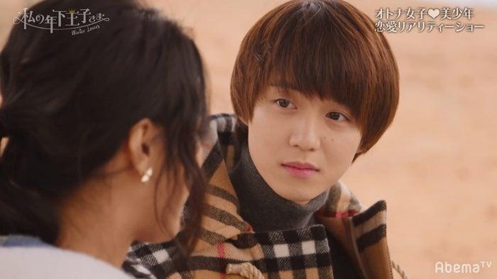 小越勇輝/「私の年下王子さま Winter Lovers」より(C)AbemaTV