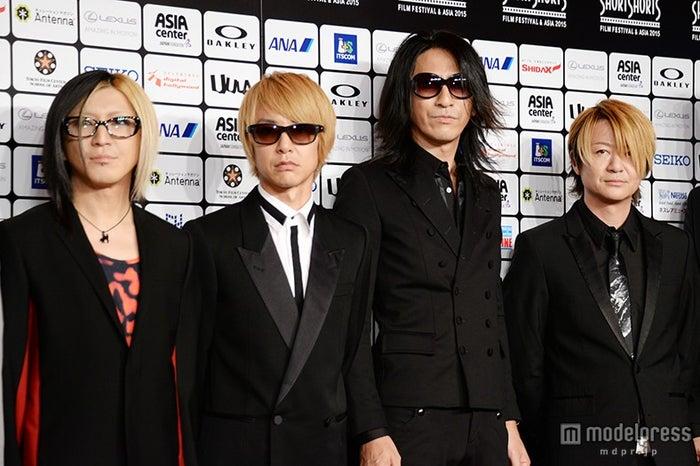 GLAY(左から)HISASHI、JIRO、TAKURO、TERU(C)モデルプレス
