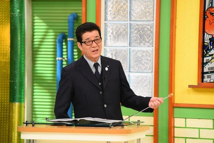 松井一郎大阪府知事(写真提供:関西テレビ)