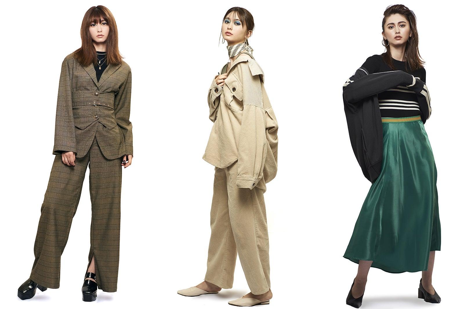2019年秋冬の流行ファッションは?「TGC」3大トレンドキーワード