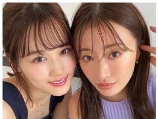 """乃木坂46山下美月、""""尊敬してやまない""""松本まりかとの2ショットに「姉妹みたい」と反響"""