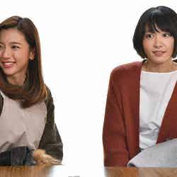 真野恵里菜、新垣結衣「逃げるは恥だが役に立つ」第10話・場面カット(C)TBS