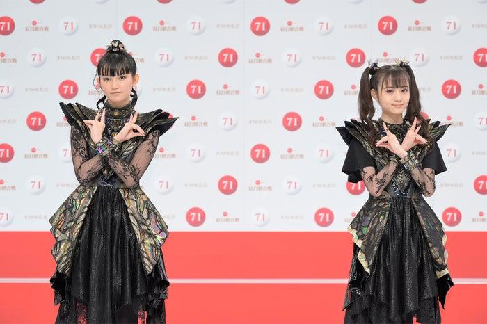 BABYMETAL「第71回紅白歌合戦」出場歌手発表記者会見(C)NHK