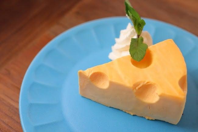 Cheeseチーズケーキ 580円(店内飲食価格)/画像提供:カームデザイン