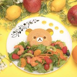 「リラックマのまくまくフルーツカフェ」原宿で開催、可愛いメニューにフルーツがたっぷり