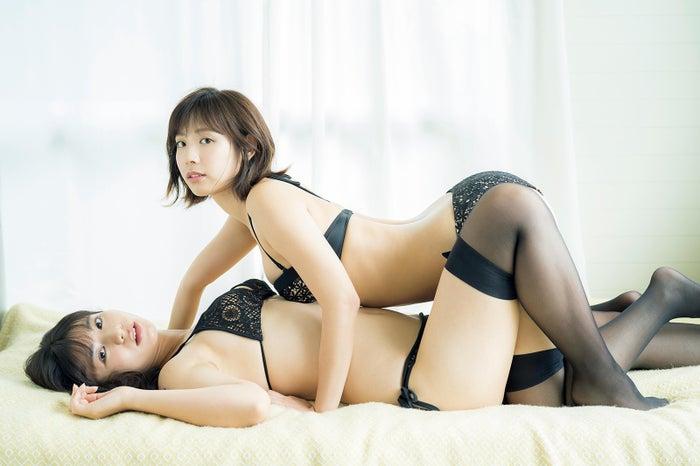 本田夕歩、水湊みお(C)カノウリョウマ、光文社