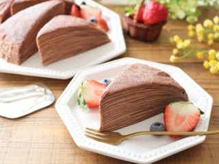 フライパンで焼いて重ねるだけ!簡単なのに凝ってる風「生チョコミルクレープ」の作り方
