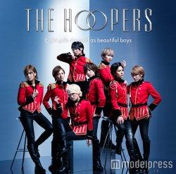 THE HOOPERS 5thシングル「ラブハンター」通常盤ジャケット写真(2016年5月11日発売)