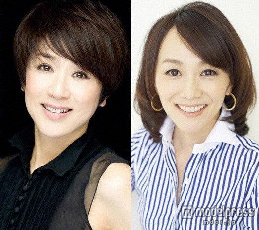 (左より)黒田知永子、木佐彩子