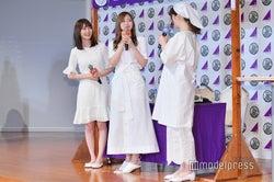 松村沙友理「みんなに食べてもらえて…ん~~!」/生田絵梨花、白石麻衣、松村沙友理 (C)モデルプレス