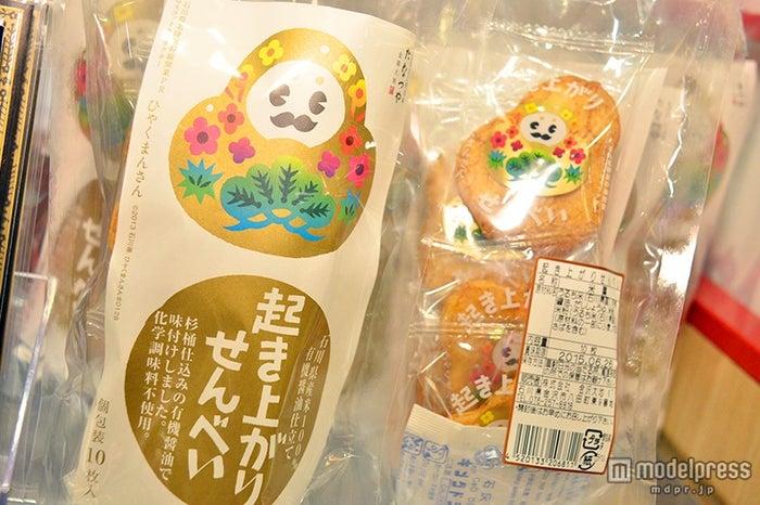「ひゃくまんさん起き上がりせんべい」¥540