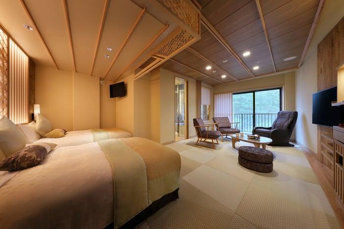 ベッド付き和室/画像提供:あさやホテル