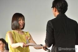 松岡茉優、小泉徳広監督 (C)モデルプレス