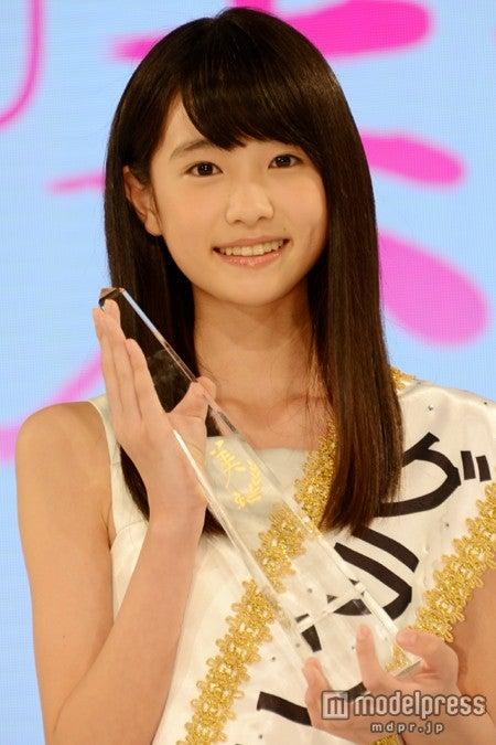 「第14回全日本国民的美少女コンテスト」グランプリの高橋ひかるさん