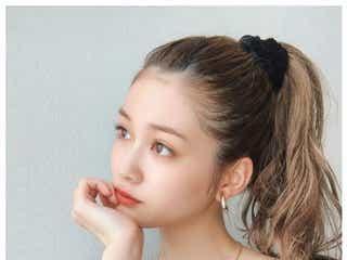生見愛瑠、オールバック×ポニーテール姿に「美人」「雰囲気違う」と絶賛の声
