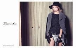 太眉がチャームポイントの英モデル、ケイト・モスに続き「LagunaMoon」カタログモデルに