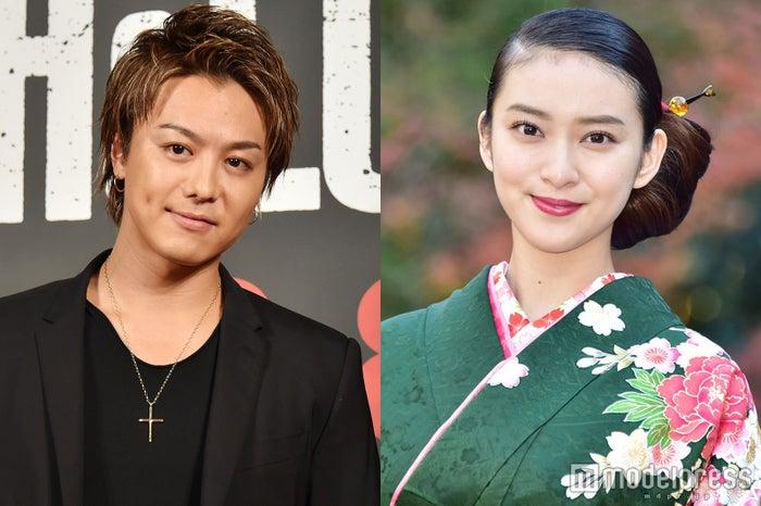 結婚を発表したEXILE TAKAHIRO&武井咲(C)モデルプレス