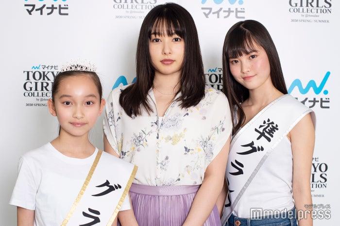 モデルプレスのインタビューに応じた上妻美咲、桜井日奈子、名波美海(C)モデルプレス