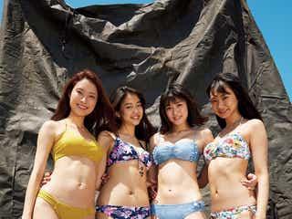 全員9頭身の迫力美!水着キャンペーンガールがズラリ集結