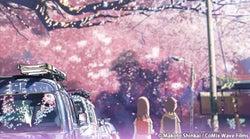 テレビ朝日で放送される「秒速5センチメートル」C)Makoto Shinkai / CoMix Wave Films