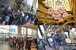 開店前に2500人が行列、銀座最大の新商業施設「ギンザシックス」開業