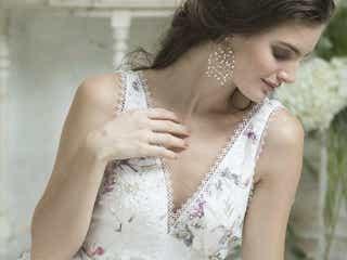 「GRANMANIE」の新作ウェディングドレスで美しすぎる花嫁に!