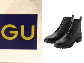 GUブーツは今が買い!1490円に値下げの大人気「黒ショートブーツ」は長く使えて超お得♡