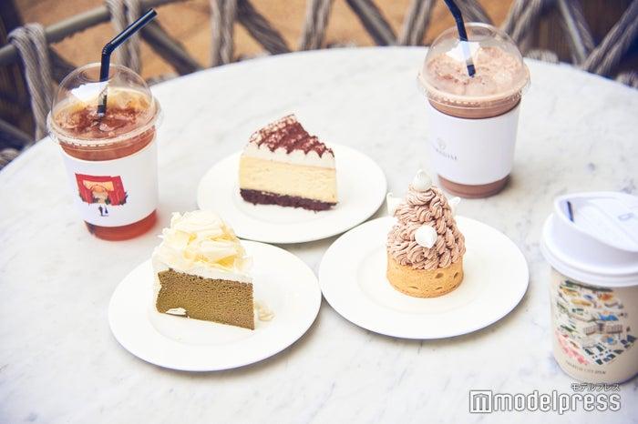 どれもお洒落で美味しいケーキたち(C)モデルプレス