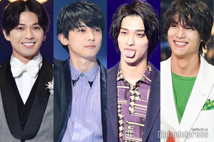 (左から)新田真剣佑、吉沢亮、横浜流星、中川大志 (C)モデルプレス