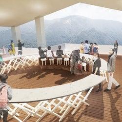 「cu-mo箱根(クーモハコネ)」自然景観&足湯を楽しめる新スポット