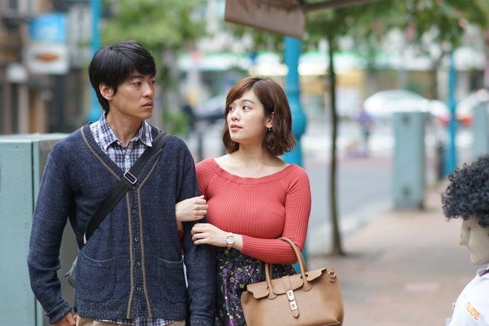 大東駿介、筧美和子「フリンジマン ~愛人の作り方教えます~」第3話より(画像提供:テレビ東京)