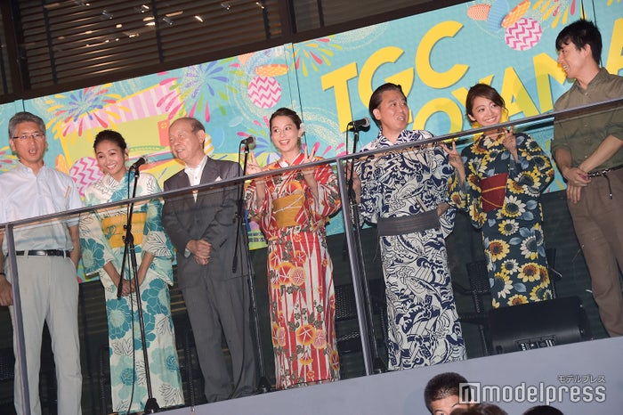 「TGC TOYAMA 2018 花火大会 by TOKYO GIRLS COLLECTION」セレモニー (C)モデルプレス