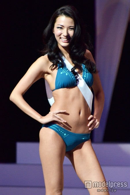 「2013 ミス・ユニバース・ジャパン」に輝いたミス三重・松尾幸実さん