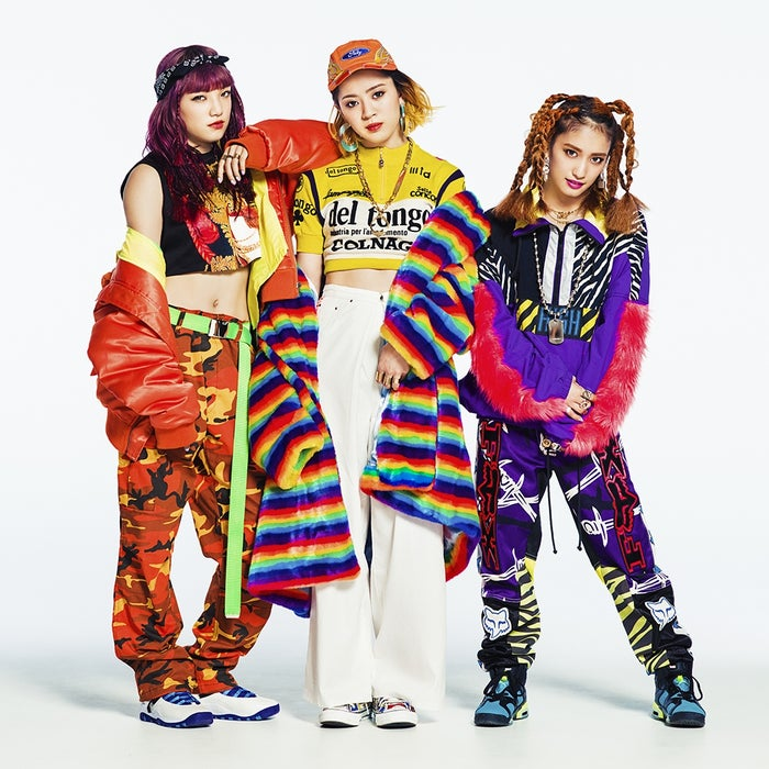 TGCに出演するスダンナユズユリー(左から)須田アンナ、武部柚那、YURINO(提供写真)