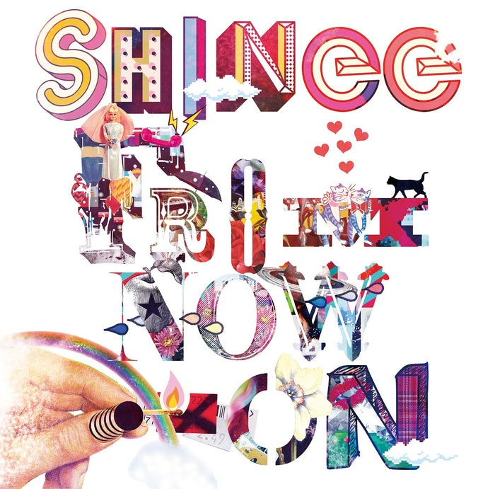 『SHINee THE BEST FROM NOW ON』(2018年4月18日発売)通常盤(提供写真)